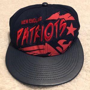 Vintage New England Patriots Cap